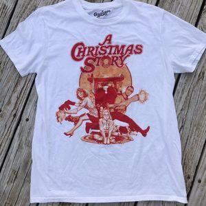 🍒 2/$20 A Christmas Story Tee Shirt